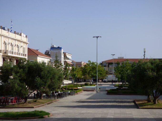 Κεντρική Πλατεία Πύργου