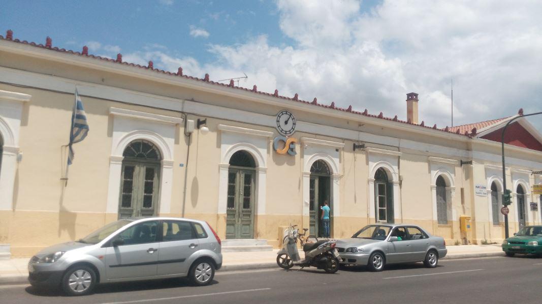 Σιδηροδρομικός Σταθμός Πύργου